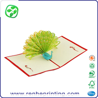 gift postcards 3D holiday card greeting, 3D gift greeting card