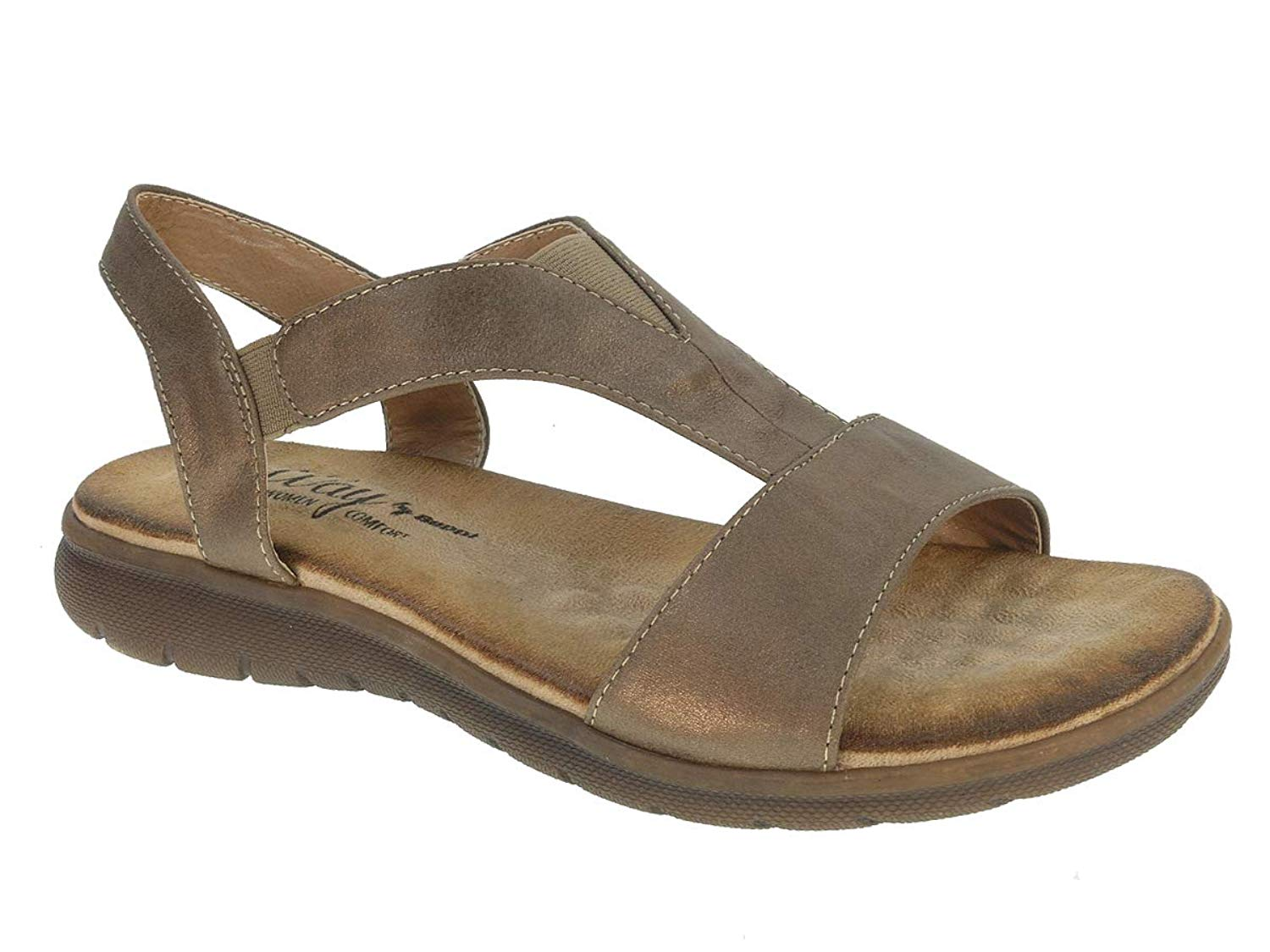 d53af148418 Get Quotations · Women s Open Toe Sandal With Cross Straps For Casual Wear