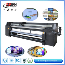 3.2M width UV LED digital roll to roll printer for advertising material