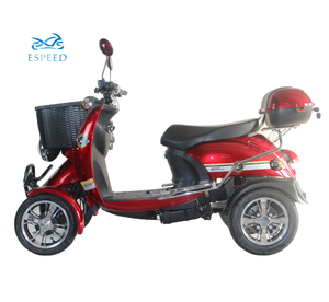 4 wheel electric scooters 2 seaters for adults with basket