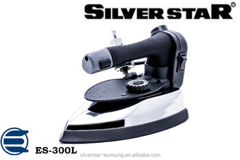 Silver Star Industrial Steam Iron Press Iron Es-300l - Buy Industrial Steam  Iron Press Iron,National Electric Iron,Electric Pressing Iron Product on