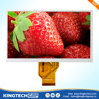 ips lcd 800*480 7 inch 4 wire resistive touch screen panel