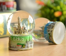 Top quality polyresin snow globe