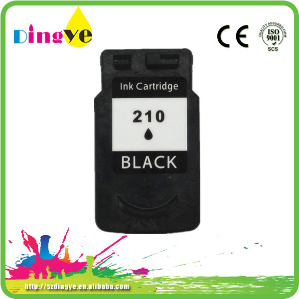 remanufactured inkjet ink for canon PG210/211 BK/C/M/Y compatible for canon