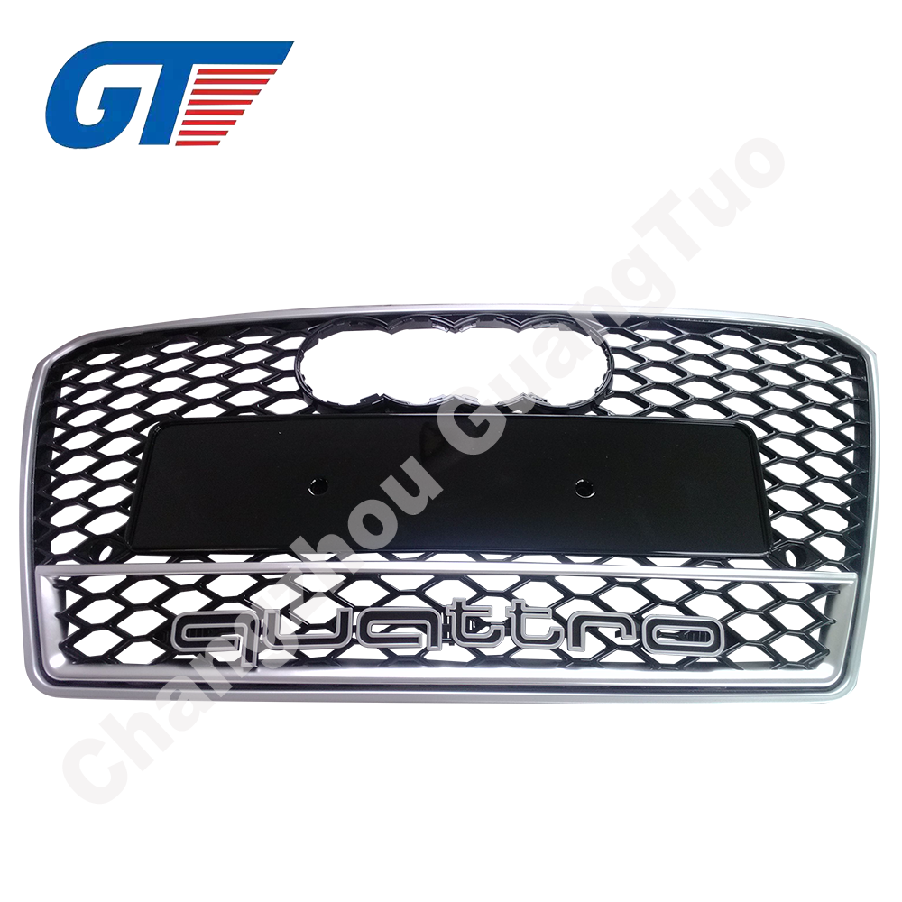 ABS A6 C7 S6 RS6 grille for 2013 A6 auto body parts