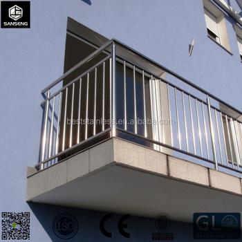 Steel Railing Balkon Kami Dapat Membuat Tubular Kawat Kaca U