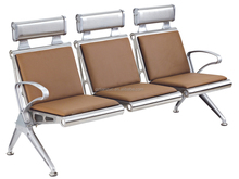 3 seaters aluminum public/bank/VIP/hospital/airport waiting chairs/public seating