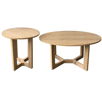 MDF Wood Simple Design Coffee Table Sets
