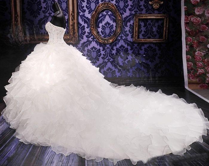 Robe de luxe – Création Cataleya (dos) | Robe de mariée