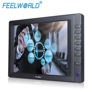 "8"" tft led 4 wire resistive touch screen 1024*768 resolution remote control vga+usb cable lcd monitor with rca video input"