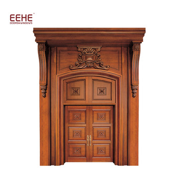 Eehe Marca Puerta De Entrada Principal Diseno Principal Doble Puerta De Madera De Alibaba Buy Puerta De Madera Puerta De Entrada Principal Diseno