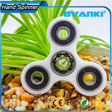 Ceramic Bearing 608 Metal Spiral Wind Spinners With Flower Shape ABS Material Hand Spinner