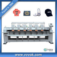 6 head textile embroidery machine for sale