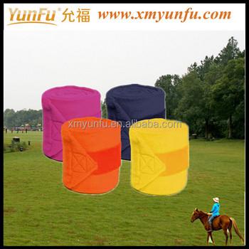 Pony/mini Horse Fleece Polo Wraps - Set Of Four