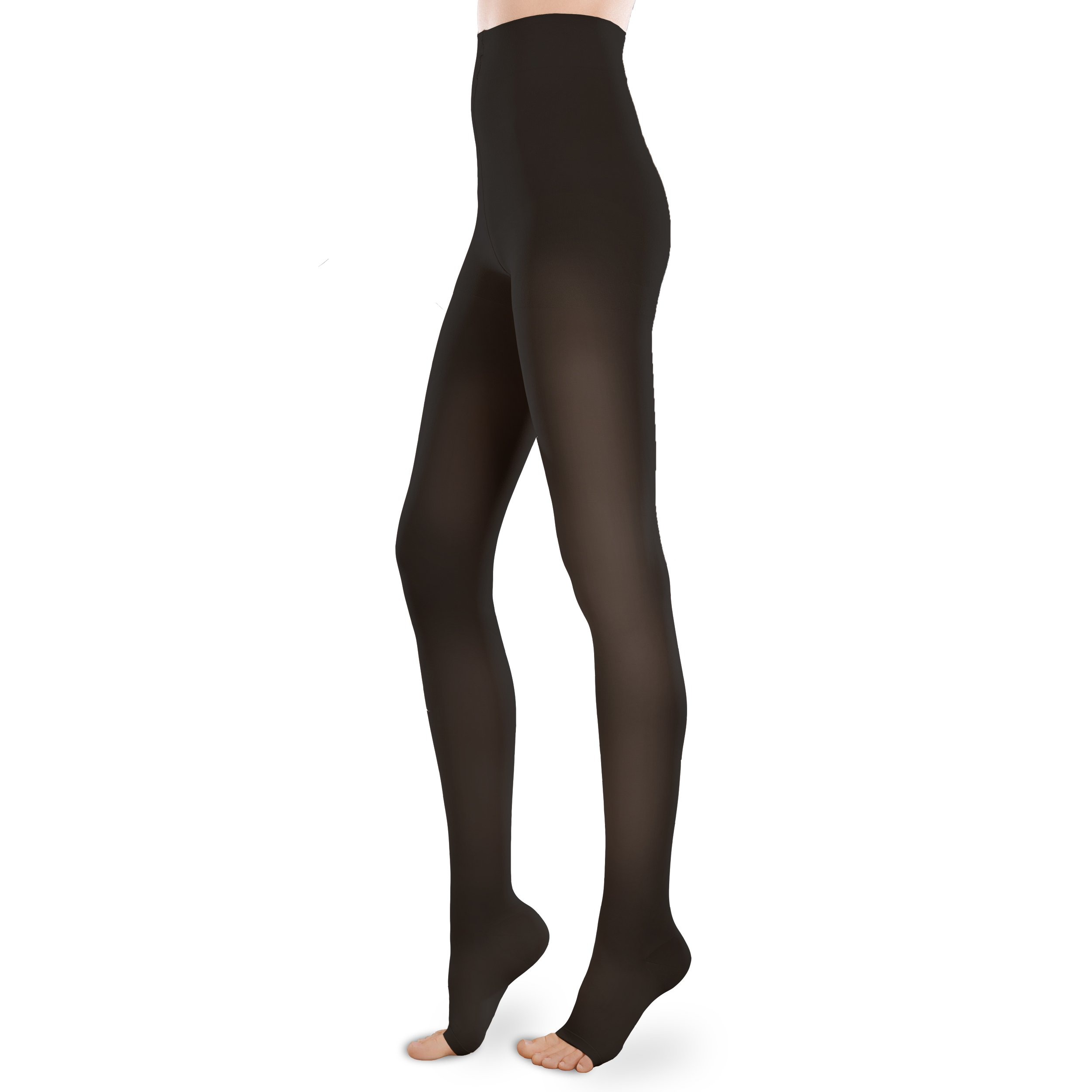 f2d4e2d978f Sheer Ease Women s Open-Toe Support Pantyhose - 30-40mmHg Firm Compression  Nylons (