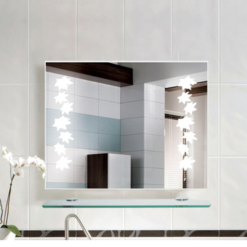 Frameless Large Commercial Bathroom Mirrors