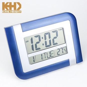 Kh-cl104 Gym Digital Large Electric Music Calendar Hong Kong Plastic Quartz  Wall Clock Countdown Timer - Buy Wall Clock Countdown Timer,Electric Wall