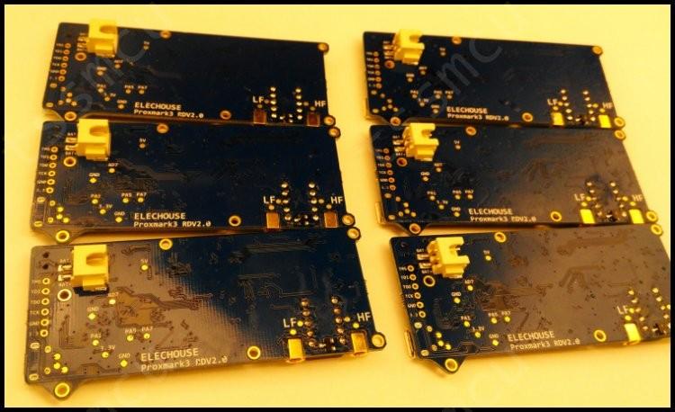 RedStar]ELECHOUSE Proxmark3 V2 DEV kits nfc RFID reader Development
