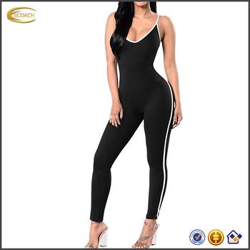 5561ff5d43c 2017 NEW Wholesale High Quality Custom Logo Fitness Yoga Wear Women Gym  Jumpsuit