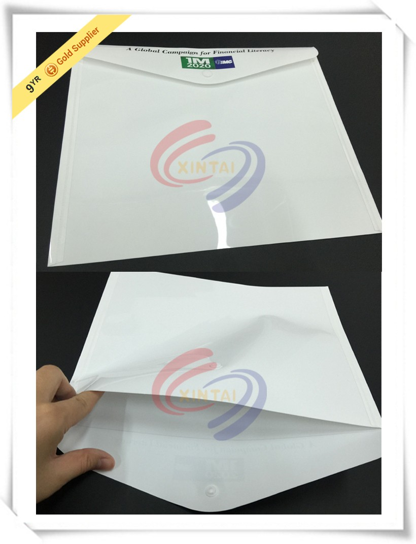 2016 Business Fancy clear plastic expandable folder