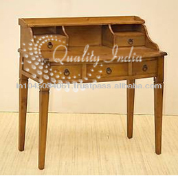Incroyable Antique Design Folding Study Table
