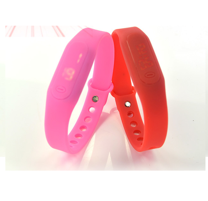 promotional product oem led watch children size 37atm glow in the dark silicone watch for men silicone logo customization premiu