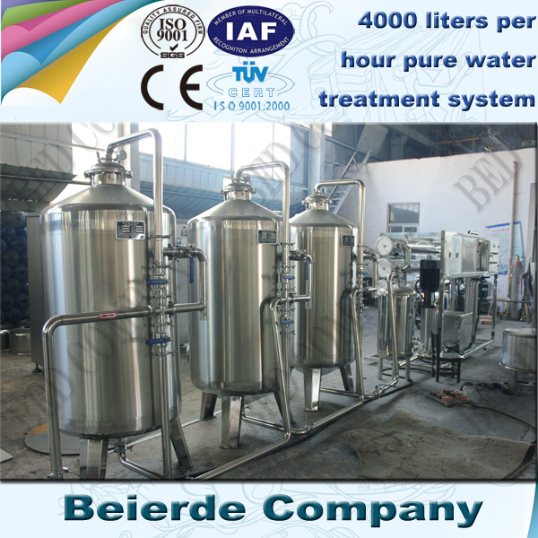 3-4 tons per hour water treatment company in china