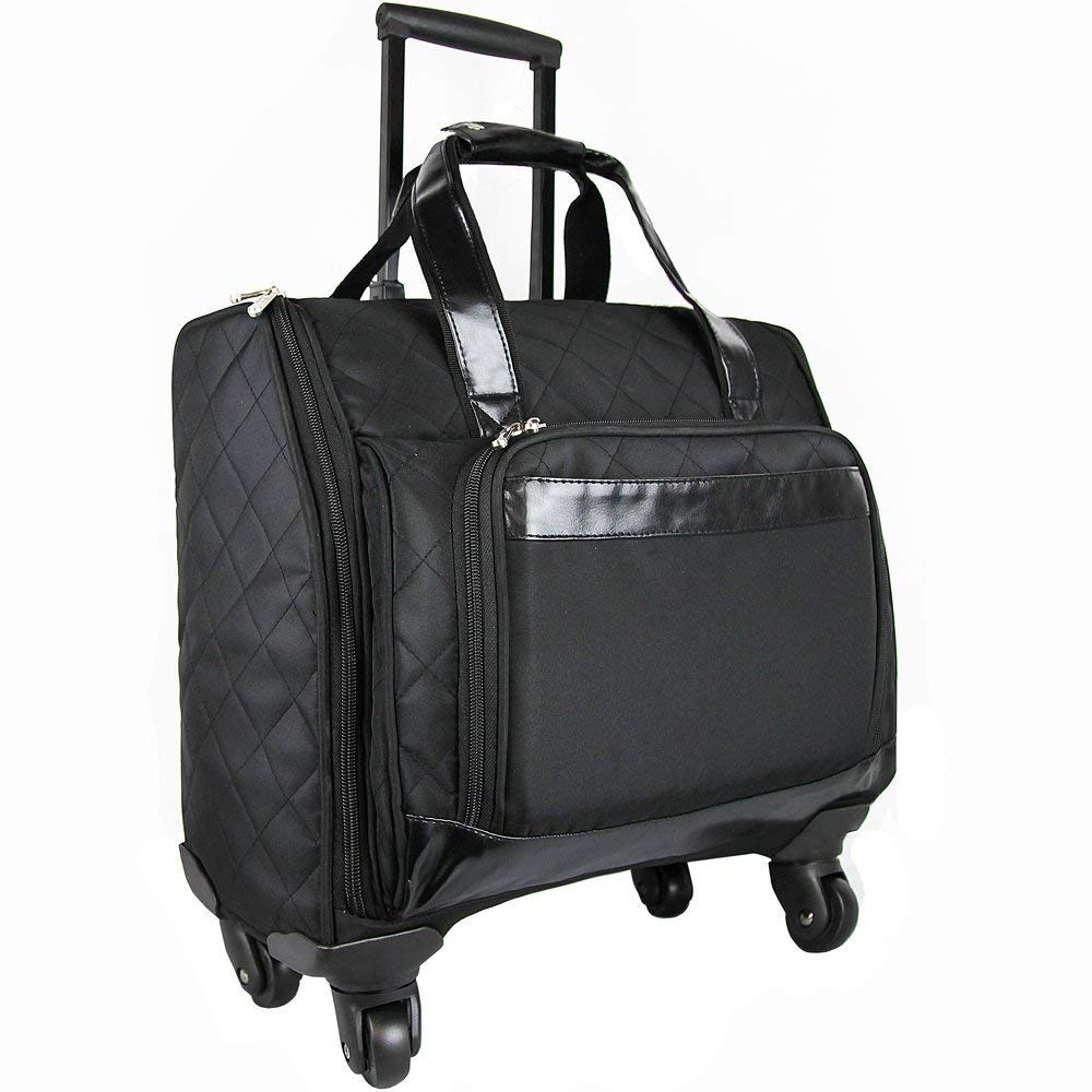 6795ed26a3a6 Get Quotations · Travelwell Savvy Rolling Computer Weekender Bag