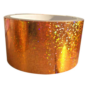 New product printed flash tape glitter duct tape
