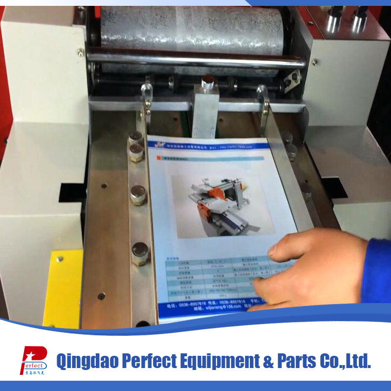 Small A4 paper sheet embossing machine