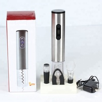 Rechargeable Cordless Electric Wine Bottle Opener with Foil Cutter, Opens up to 180 Bottles with One Charge