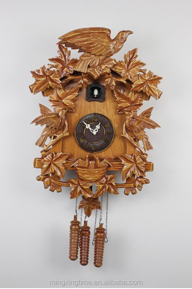 New style of Wooden Cuckoo wall Clock&hot selling