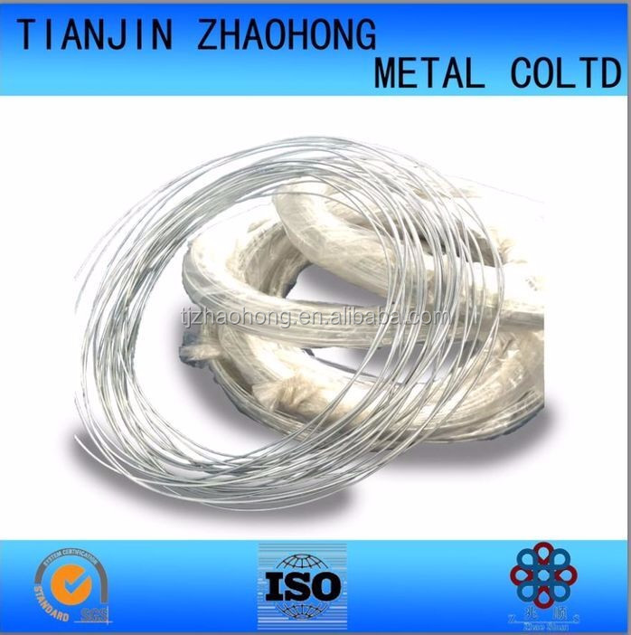 Hot dipped/electro Galvanized iron wire used for wire mash