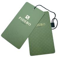 New China Custom Fashion Clothing Hang Paper Tag Designs