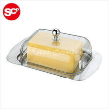 Custom professional stainless steel cheese butter dish