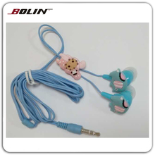Elephant Style Cartoon Earbuds For Sales Cute Animal Cartoon Earphones