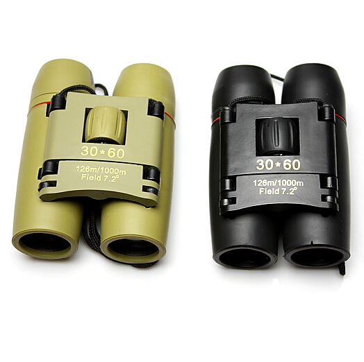 QG6254 30x60 Day And Night Camping Travel Vision Optical military Folding Binoculars Telescope outdoor sports eyepiece