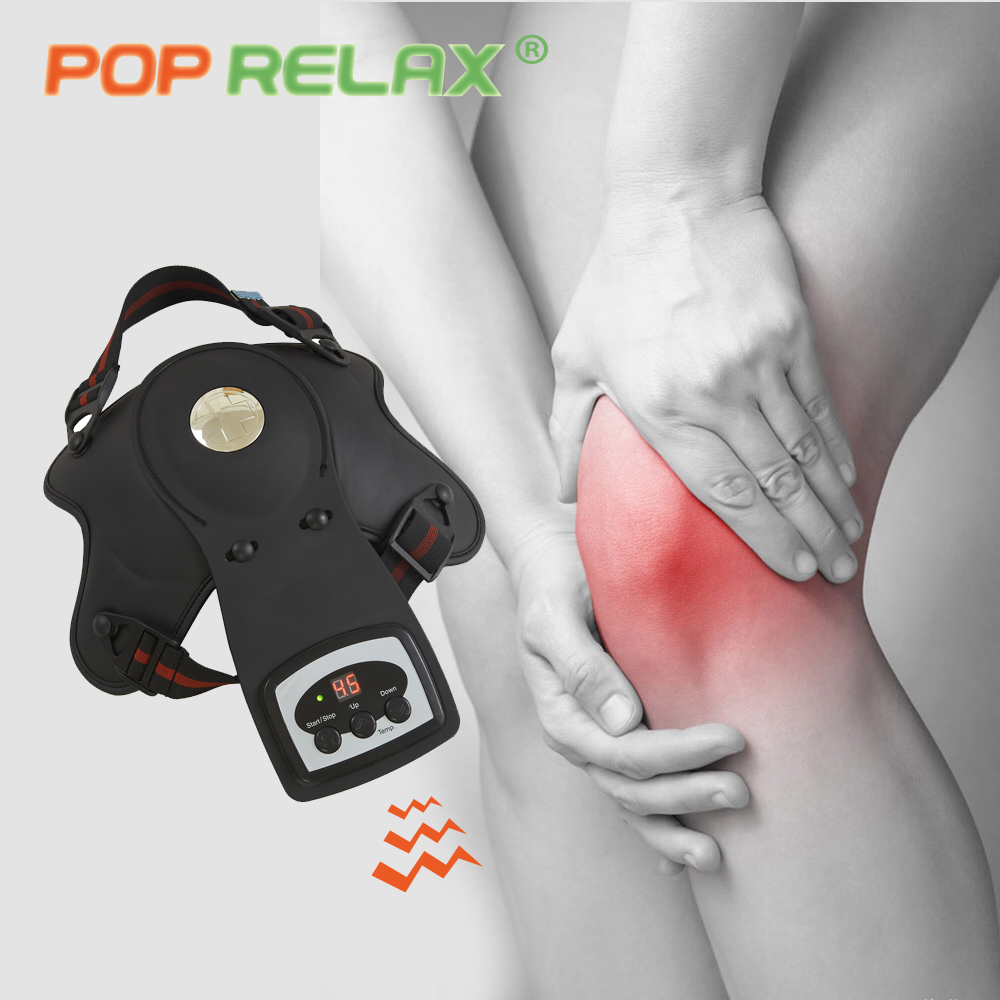 POP RELAX electric heating knee massager for arthritis health care vibrating physiotherapy pain relief massage device vibrator
