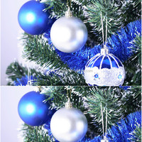 2016 christmas tree decoration for Poland