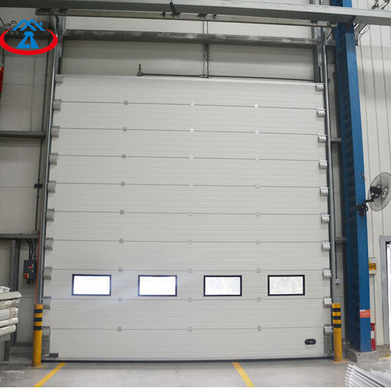 product-Warehouse Overhand Vertical Lift Industrial Used Steel Automatic Sectional Door-Zhongtai-img