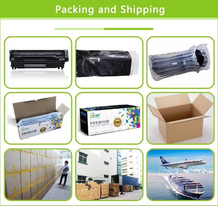 CHENXI 201a color toner cartridge cf400a cf401a cf402a cf403a compatible for hp m252 m277