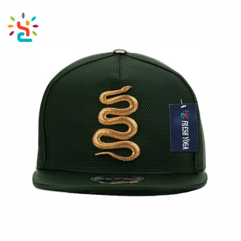 611b3afccdc Fashion gold snake gorras caps wholesale snapback cap organic blank starter snapback  hats hot sale