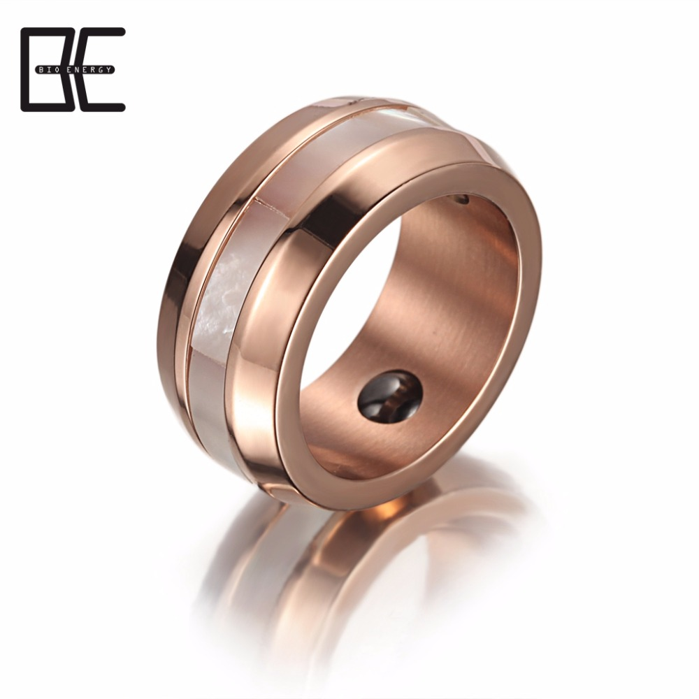 in energy stones jewelry ring fade wedding rings with magnetic the powerful on steel item punk real tungsten from never accessories lord classic of