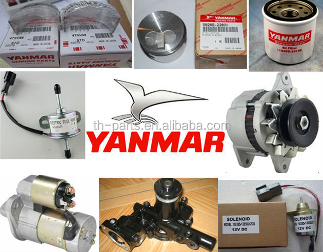 China Yanmar Engine Parts Manufacturers