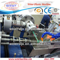 pvc soft spiral reinforced pipe making machine/pvc hose extusion machine