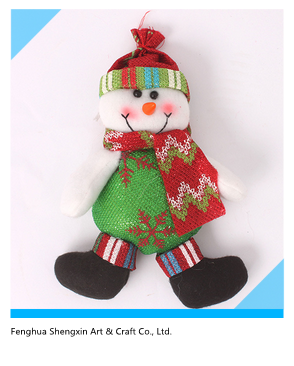 Ningbo Christmas Snowman Indoor Hnaging Decoration Ornament Gift
