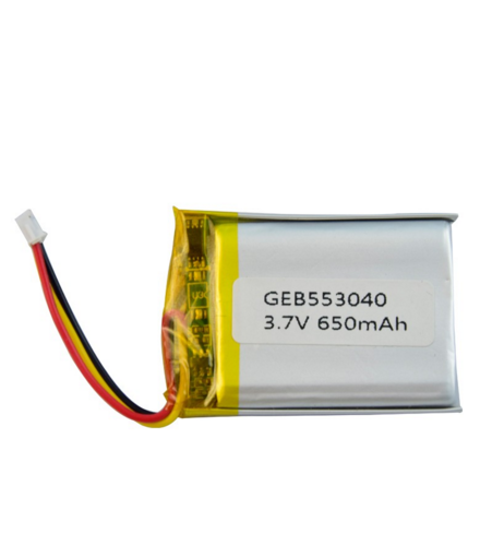 China Manufacturer 3.7v 650mah li-polymer battery ds 852540 553040 for Game Player, Camera
