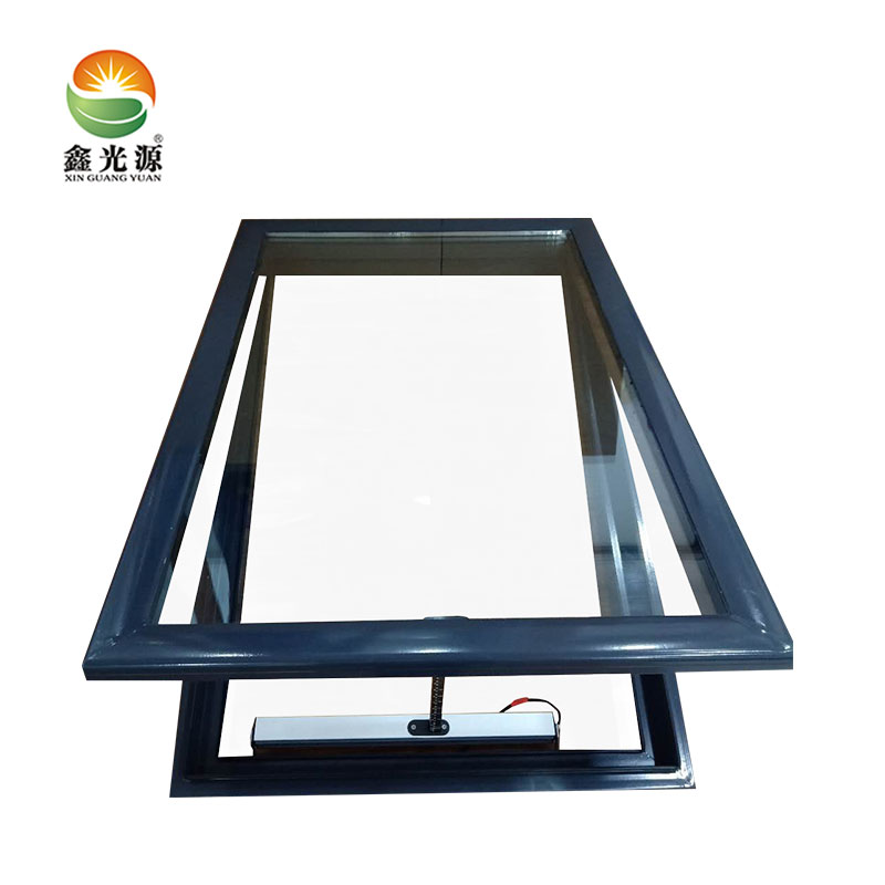 Aluminum Electric Motor Roof Window Panels With Motorized Skylights Roof Top Blinds Buy Skylights Roof Topaluminium Skylightskylight Blinds