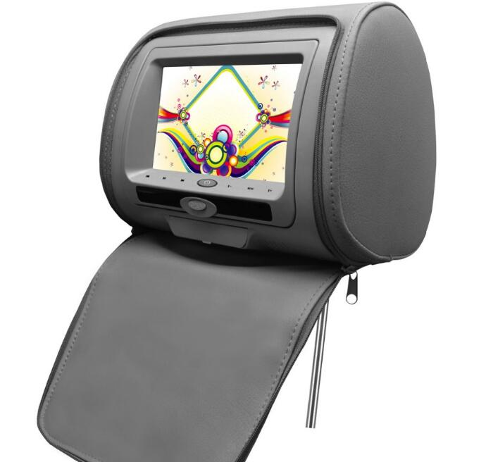 "10.1 "" TFT LCD Headrest Monitor DVD player with pillow /head rest lcd car dvd"