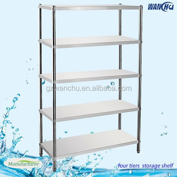 Kitchen Shelving Restaurant And Hotel Stainless Steel 5 Tiers Commercial Kitchen Shelf Buy